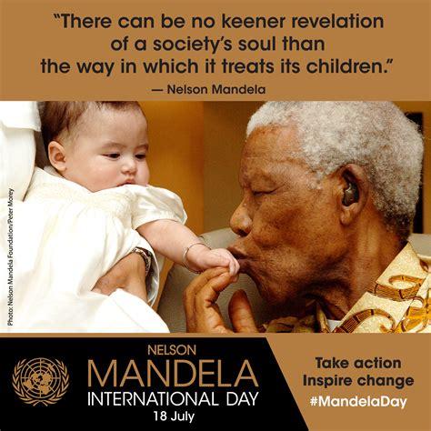 Nelson Mandela International Day, 18 July, For Freedom ...