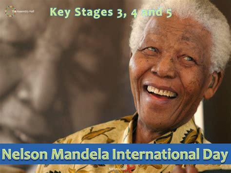Nelson Mandela International Day Assembly   18th July 2020 ...