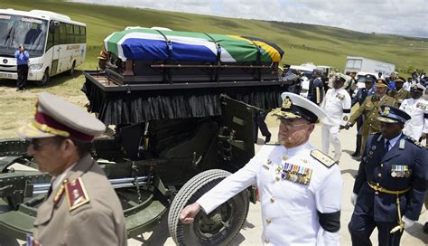 Nelson Mandela laid to rest as South Africa says goodbye ...