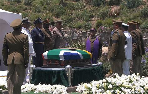 Nelson Mandela Laid To Rest In Dignified Funeral