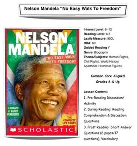 Nelson mandela, Lesson plans and Nelson on Pinterest