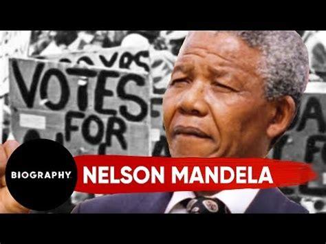 Nelson Mandela   Mini Biography   YouTube