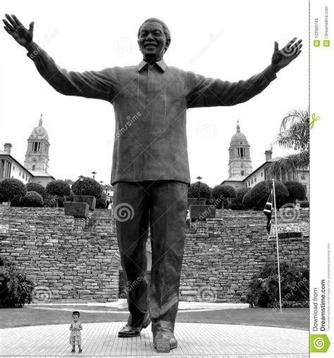 Nelson Mandela Monument editorial stock photo. Image of ...