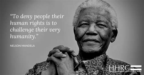 Nelson Mandela on Human Rights
