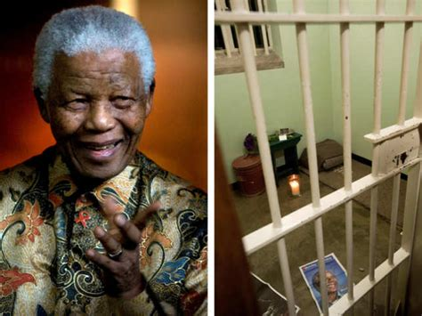 Nelson Mandela prison cell: Outrage over charity auction ...