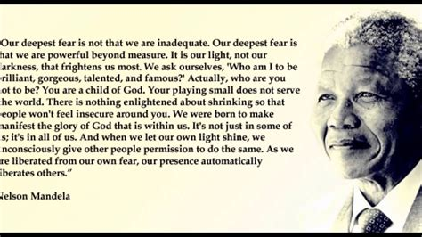 Nelson Mandela quotes   YouTube