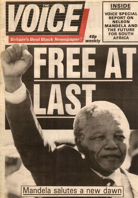Nelson Mandela released from prison [11.02.1990]