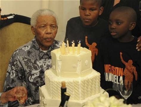 Nelson Mandela s 92nd birthday marked with service, soccer ...