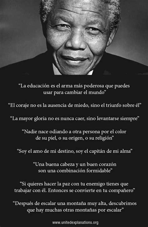 Nelson Mandela s inspirational phrases | Inspirational ...