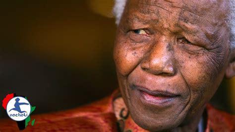 Nelson Mandela s Last Speech as President   YouTube