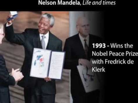 Nelson Mandela s Life Time And Achievements [lampoon x ...
