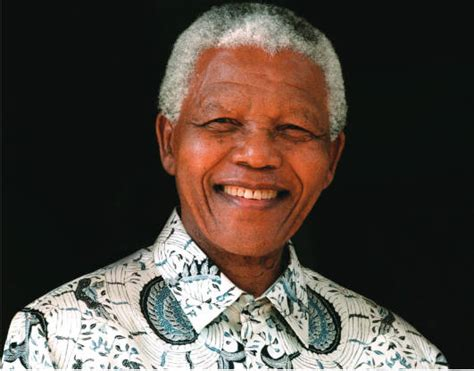 Nelson Mandela – South Africa's first black president and ...
