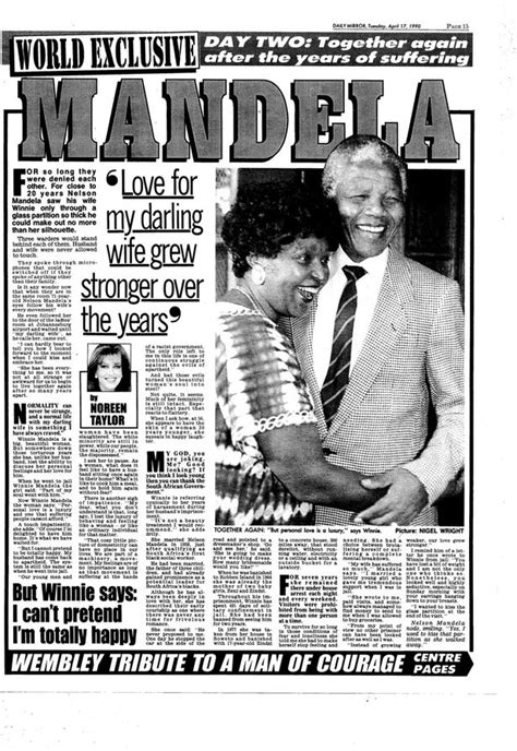 Nelson Mandela scoop: Winnie was so cold in historic first ...
