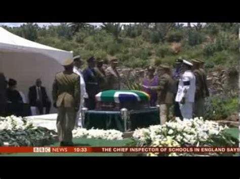 Nelson Mandela State Funeral Full Version Burial   YouTube