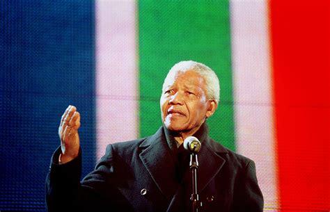Nelson Rolihlahla Mandela   Former President of South Africa