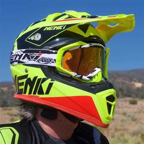 Nenki NK 316 Dirt Bike Helmet Review  Goggles Included
