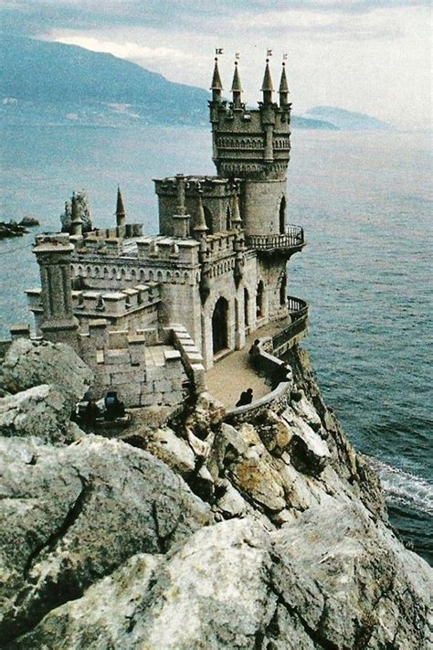 Neo gothic castle on the Black Sea in the Ukraine Swallow ...