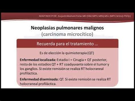 Neoplasias pulmonares malignos   YouTube