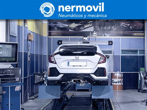 Nermovil. Neumáticos y mecánica. 6 talleres en Madrid