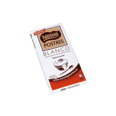 Nestle Postre Chocolate Blanco   Prohogar