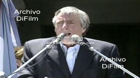 Nestor Kirchner discurso por pago de la Deuda Externa 2005 ...
