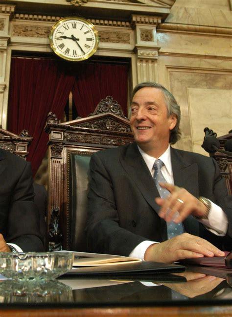 Nestor Kirchner en la Asamblea Legislativa en el Congreso ...