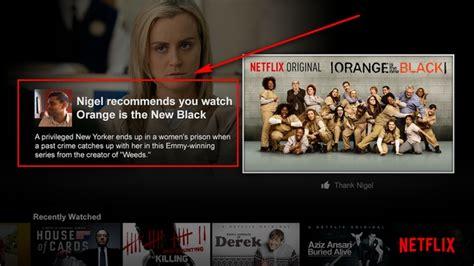 NetFlix ahora permite recomendar series y películas en ...