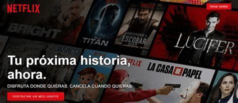 Netflix: INICIAR SESIÓN y entrar en la cuenta de inicio