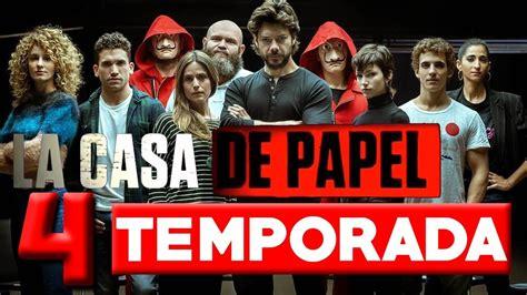 Netflix revela la fecha de estreno de La Casa de Papel