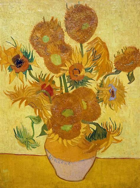 Netherlands 4029   Sunflower  Last One of the Van Goghs an ...