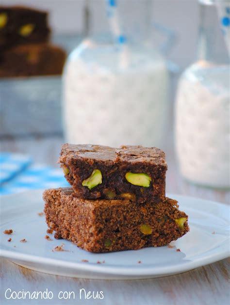 Neus cocinando con Thermomix: Brownie de pistachos | Barra ...