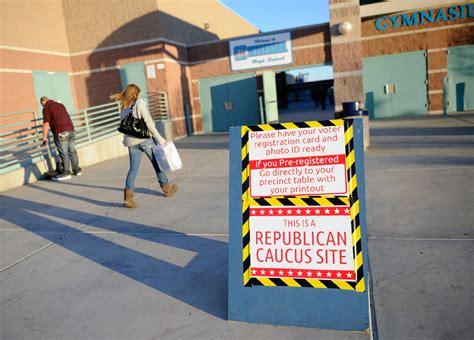 Nevada caucus sites open for business   CBS News