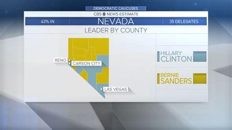 Nevada Democratic caucuses   CBS News