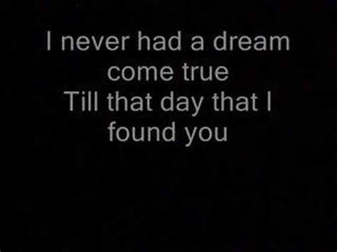 Never had a dream come true  lyrics    YouTube