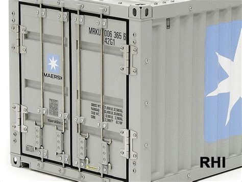 NEW 56516 TAMIYA 1/14 Semi 40ft Maersk Container Trailer ...