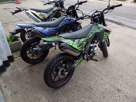 New Apollo RX50 supermoto enduro 50cc moped motorbike