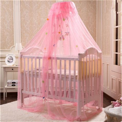 New Arrival Children Bed Net Yellow White Pink Baby Crib ...