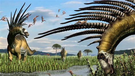 New Badass Dinosaur Species With A Spiky Back, Discovered ...