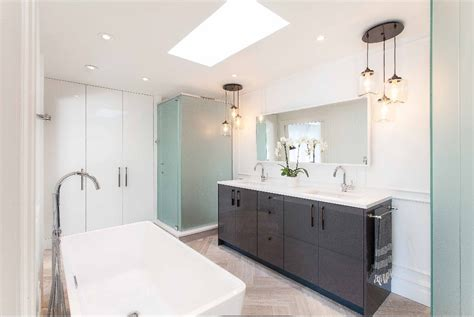 New Bathroom with Kitchen Cupboards!   IKEA Hackers