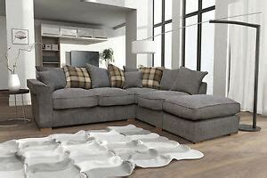 New Fable Large Corner Sofa Scatter Back with Free ...
