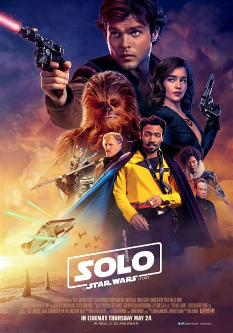 New Han Solo Movie Poster Puts Lando Front and Center ...