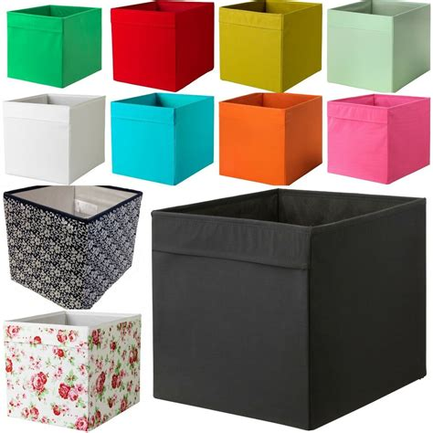New Ikea DRONA Fabric Storage Box Basket For Expedit ...