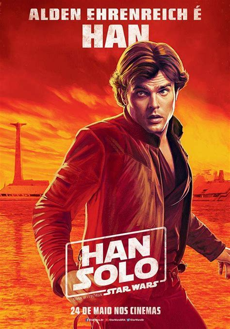 New International  Solo  Posters Show Off the Cast