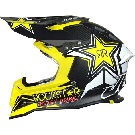 NEW JUST1 Mx J12 Rockstar 2.0 Yellow Black Dirt Bike ...