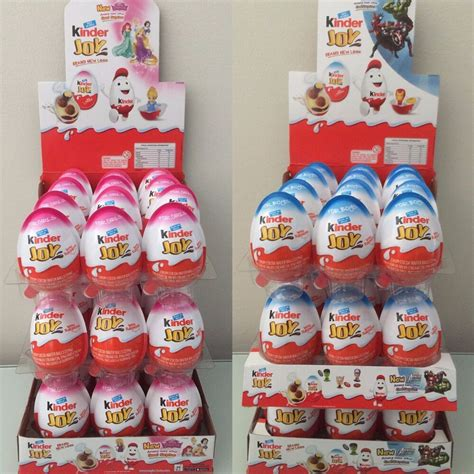 New Kinder Joy Surprise Eggs in Toy & Chocolate For Boys ...