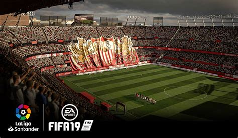 New LaLiga Features in FIFA 19: 16 Stadiums, Over 200 Head ...
