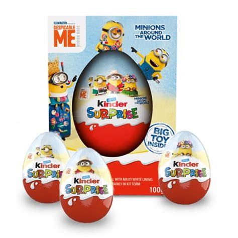 New range of Kinder Surprise Minions returns following ...