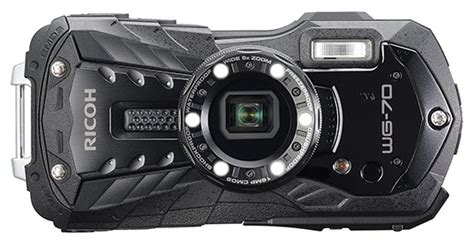 New Ricoh WG 70 waterproof shockproof compact camera ...