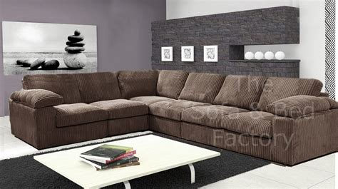 New Ruxley Large Fabric 6 Seater Corner Sofa   2 Corner 3 ...