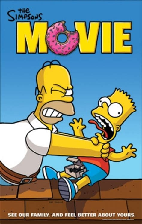 New Set of The Simpsons Movie Posters | FirstShowing.net